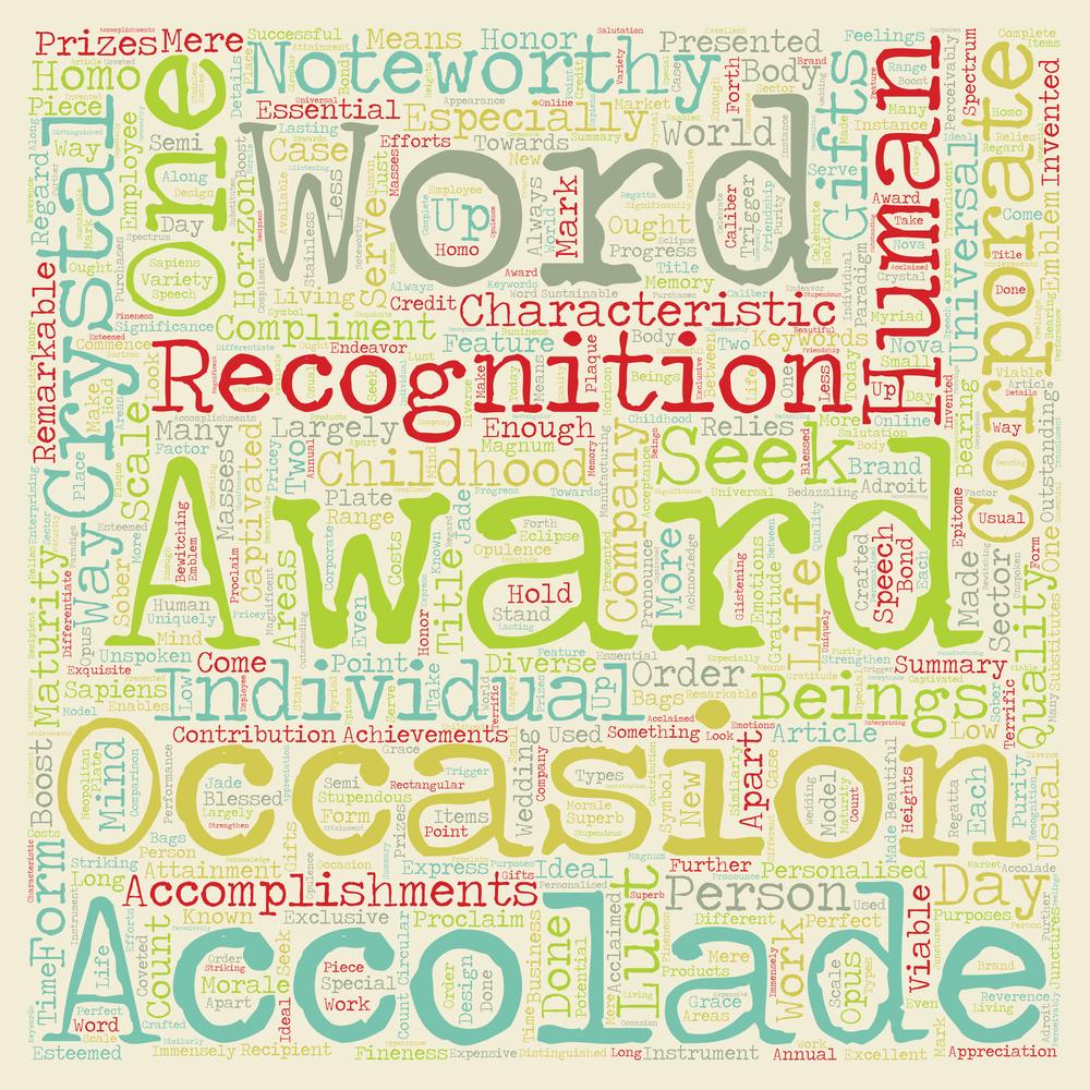 decorative banner - awards